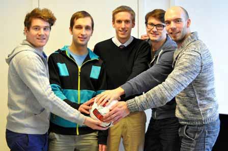 Das Videoanalyse-Team von Fubalytics
