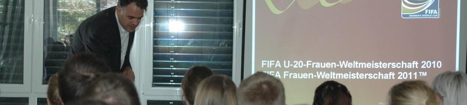 Gastvorlesung zur FiFa Frauen-WM an der ISA21