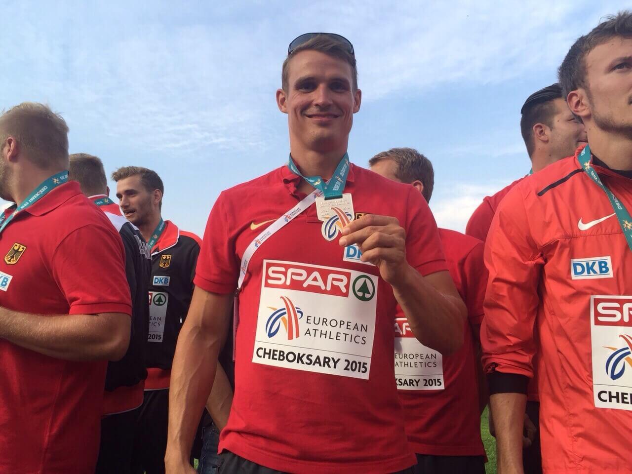 Sven Knipphals in Cheboksary bei der Leichtathletik EM